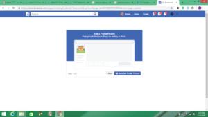 screenshot facebook business account