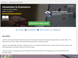 Introduction to ECommerence