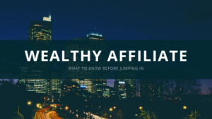 wealthy affiliate sign up banner