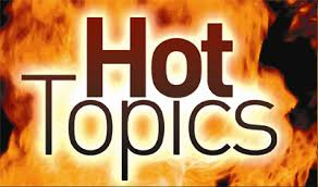 hot topics on fire