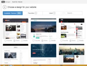 Choose A Design For Your Website