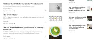 Medium Startup Articles