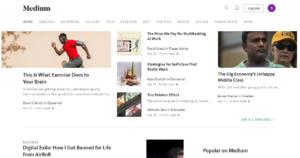 My selection of topics on Medium