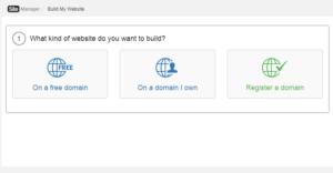 Build a Website Domain