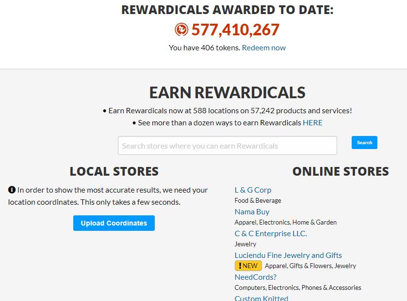 Rewardicals